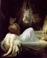 Le cauchemar (Johann Heinrich Fussli, 1802)