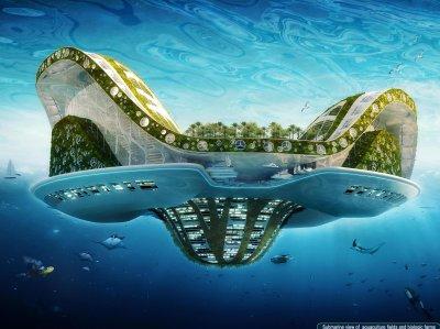 Lilypad : une ville flottante ou éco-cité marine